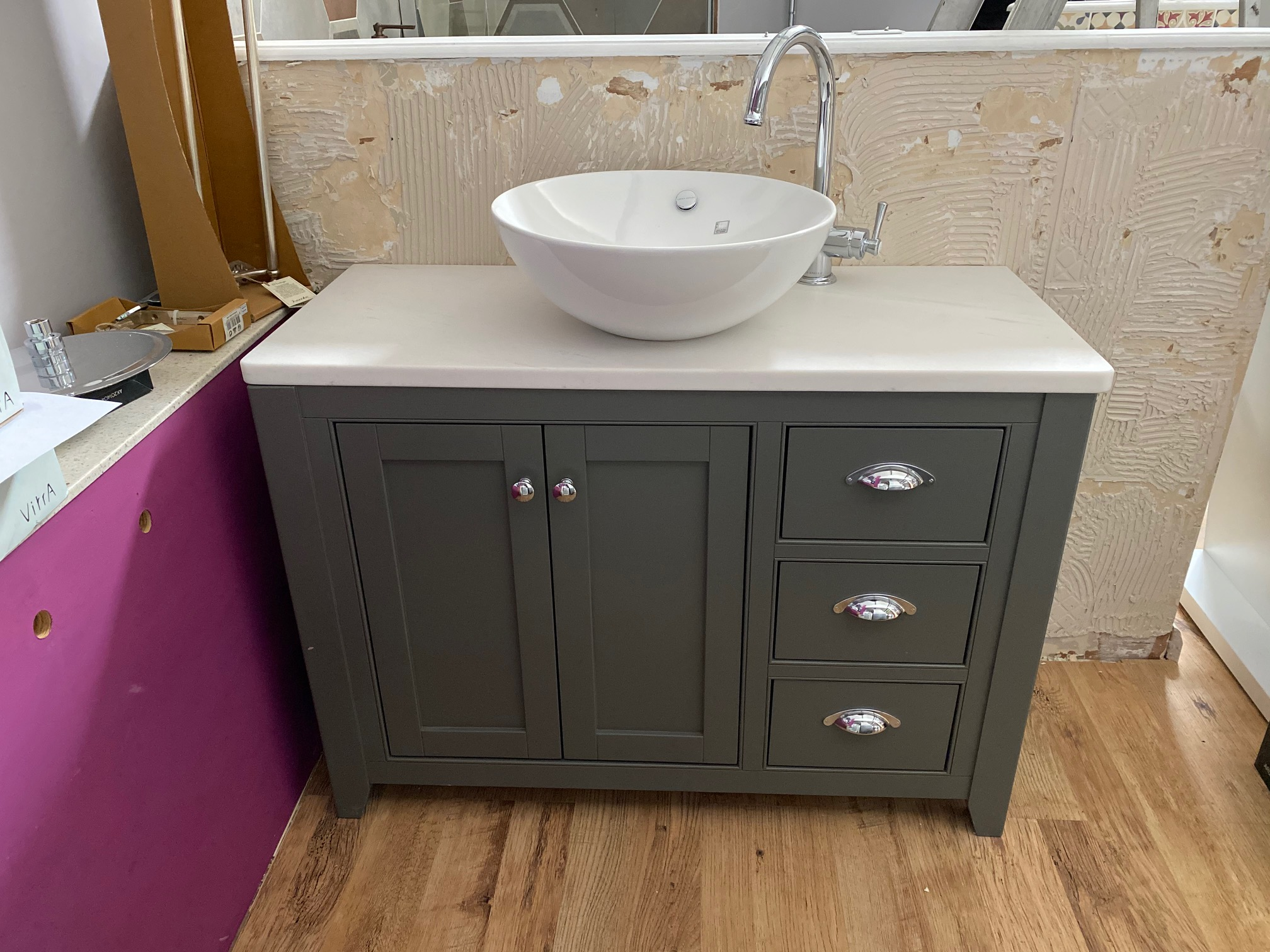 *Ex-display* Laura Ashley 1000mm Vanity Unit, Bowl ...